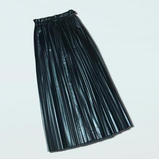 Maison Martin Margiela - MM6 エコレザープリーツスカート