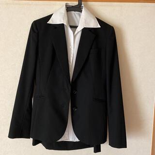 アオキ(AOKI)の黒のリクルートスーツ(スーツ)