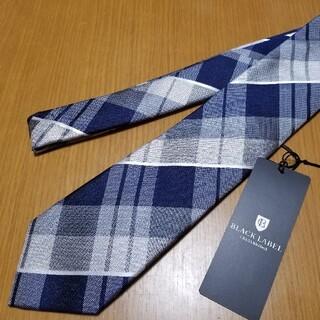 BLACK LABEL CRESTBRIDGE - 【新品】ブラックレーベルクレストブリッジ バーバリー ネクタイ スーツ シルク