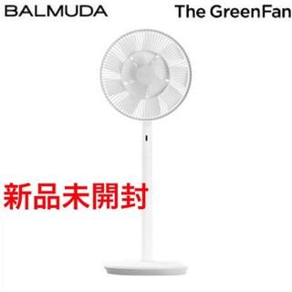 バルミューダ(BALMUDA)の新品未開封 BALMUDA The GreenFan EGF-1700 ホワイト(扇風機)