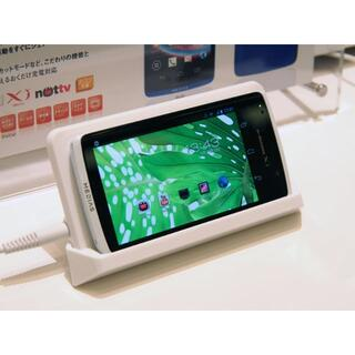 NEC - ◆新品未使用◆送料無料◆ワイヤレス充電◆NECカシオ MEDIAS X ホワイト