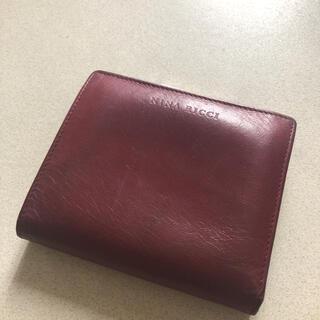 NINA RICCI - ニナリッチ折り財布 ワインレッド