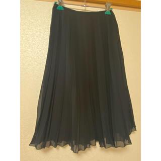 ロペ(ROPE)のRope 黒色スカート(ひざ丈スカート)