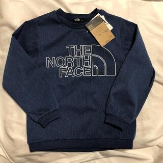 THE NORTH FACE - 新品未使用タグ付きノースフェイストレーナー デニム生地 130長袖