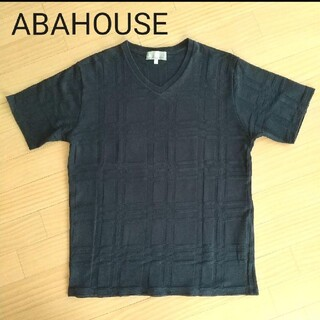アバハウス(ABAHOUSE)のアバハウス Tシャツ M(Tシャツ/カットソー(半袖/袖なし))