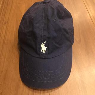 ラルフローレン(Ralph Lauren)のラルフローレン  キャップ ネイビー キッズ ベビー(帽子)