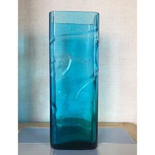 手作り ガラス花瓶 花器 フラワーベース