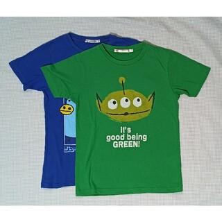 UNIQLO - 子供服 男の子 Tシャツ2枚セット サイズ140 ユニクロ USED