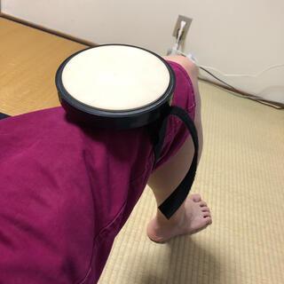 ドラム 練習パッド 足装着 持ち運び用(その他)