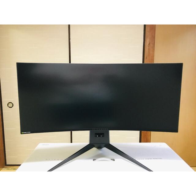ゲーミングモニター Dell ALIENWARE AW3418DW スマホ/家電/カメラのPC/タブレット(ディスプレイ)の商品写真