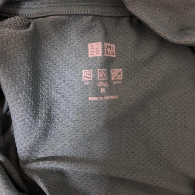 UNIQLO(ユニクロ)のユニクロ エアリズム UVカットメッシュジャケット カーキ レディースのトップス(パーカー)の商品写真