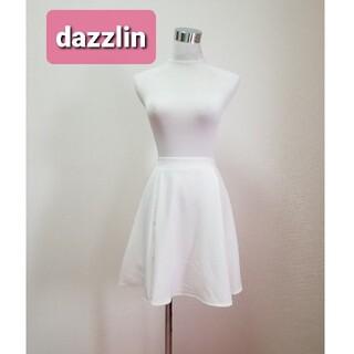 dazzlin - dazzlin ダズリン ミニスカパン ミニスカート ホワイト ウエストゴム