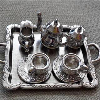 ミニチュアティーセット 銀食器(ミニチュア)
