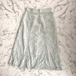 ジルスチュアート(JILLSTUART)の未着用⭐︎ジルシチュアート レーススカート(ロングスカート)