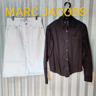 マークジェイコブス(MARC JACOBS)のマークジェイコブス  デニム  スカート(ひざ丈スカート)