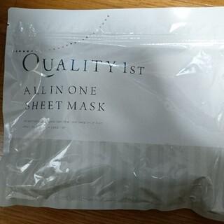 クオリティファースト(QUALITY FIRST)のクオリティファースト オールインワンシートマスクホワイト(パック/フェイスマスク)