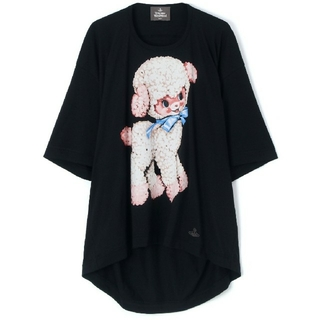 Vivienne Westwood - Vivienne Westwood Man オーブ コットンラム ビックTシャツ