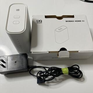 UQ WiMAX WiMAX HOME02 Wi-Fi