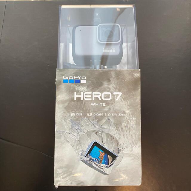 GoPro(ゴープロ)のgopro HERO7 ゴープロ スマホ/家電/カメラのカメラ(ビデオカメラ)の商品写真