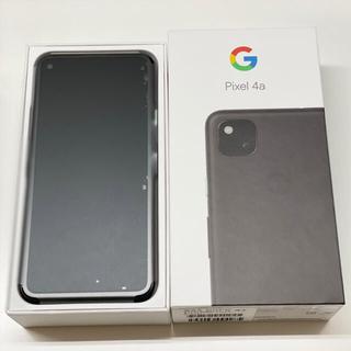 Google Pixel - Google Pixel 4a  JustBlack 128GB SIMフリー