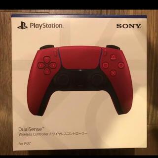プレイステーション(PlayStation)のps5コントローラー デュアルセンス コズミックレッド(家庭用ゲーム機本体)