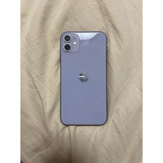 Apple - iphone11 パープル purple 64GB