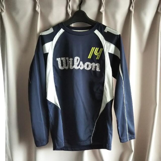 wilson(ウィルソン)のWilson スポーツ長袖ウェア  Small スポーツ/アウトドアのテニス(ウェア)の商品写真