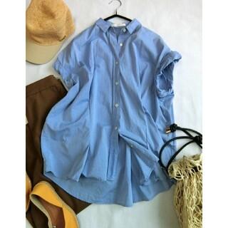 ドアーズ(DOORS / URBAN RESEARCH)のURBAN RESEARCH DOORS 大人可愛い♪タックシャツ(シャツ/ブラウス(半袖/袖なし))