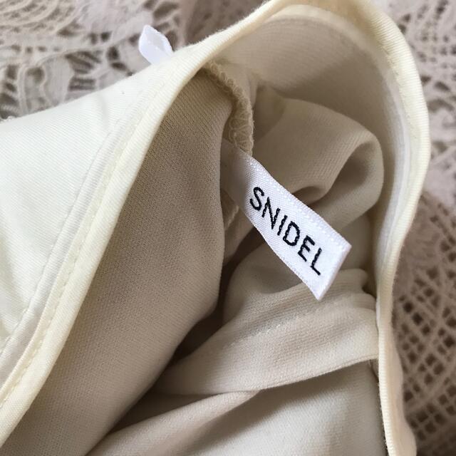 snidel(スナイデル)のスナイデル レースマーメイドスカート  レディースのスカート(ロングスカート)の商品写真