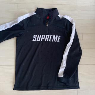 シュプリーム(Supreme)のSupreme Track Half Zip Pullover Black(ジャージ)