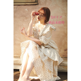 snidel - Herlipto Miracle Wave Belted Dot Dress