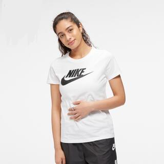 ナイキ(NIKE)のナイキ スポーツウェア エッセンシャル ウィメンズ 半袖Tシャツ ホワイト(Tシャツ(半袖/袖なし))