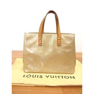 LOUIS VUITTON - 美品 ルイヴィトン M91144 ヴェルニ リードPM ノワゼット ハンドバッグ