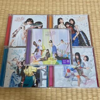 ノギザカフォーティーシックス(乃木坂46)の乃木坂46 ごめんねFingers crossed 通常盤+ABCD 5枚セット(ポップス/ロック(邦楽))