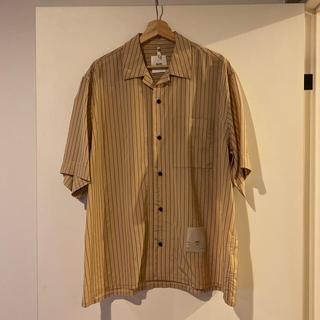 ジルサンダー(Jil Sander)のOAMC 20ss kurt shirt ストライプ半袖シャツ(シャツ)