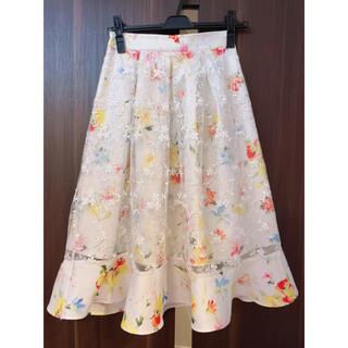tocco - トッコクローゼット 花柄刺繍スカート