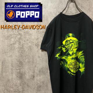ハーレーダビッドソン(Harley Davidson)のハーレーダビッドソン☆ウィザードビッグキャラプリント・バックビッグロゴTシャツ(Tシャツ/カットソー(半袖/袖なし))