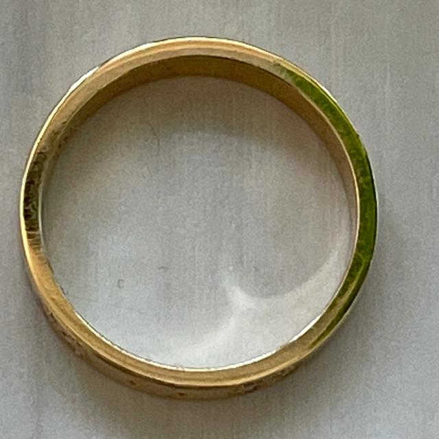 【美品】GUCCI グッチ 〔アイコン〕イエロー ゴールド リング 10号 レディースのアクセサリー(リング(指輪))の商品写真