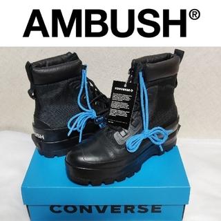 アンブッシュ(AMBUSH)の新品■AMBUSH × コンバース ダックブーツ 黒(スニーカー)