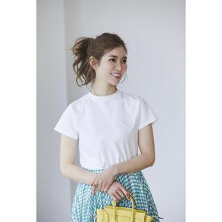 ドゥロワー(Drawer)のセブンテン エンブレム Tシャツ(Tシャツ(半袖/袖なし))