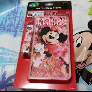 ディズニー(Disney)のディズニー♡ ミニー スマートフォンケース  (iPhoneケース)
