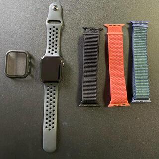 Apple Watch - ApplewatchSE Nike44mm スペースグレイアルミニウムケース