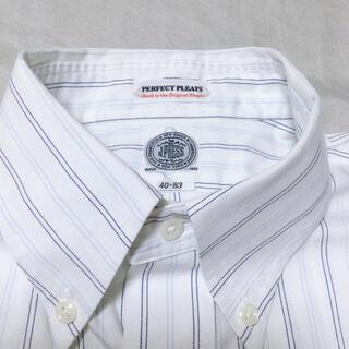 J.PRESS - J.PRESS 長袖 ストライプシャツワイシャツ40-83 ジェイ•プレス
