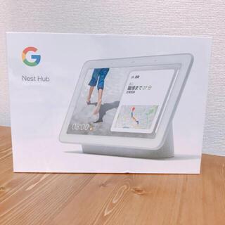 グーグル(Google)のGoogle GOOGLE NEST HUB CHALK(タブレット)