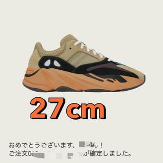 """アディダス(adidas)のYEEZY BOOST 700 27cm  """"ENFLAME AMBER""""(スニーカー)"""