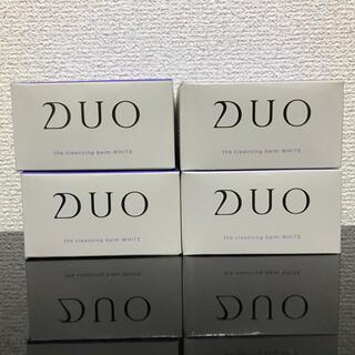 ☆新品・未使用☆ DUO ザ クレンジングバーム ホワイト 90g  4個セット