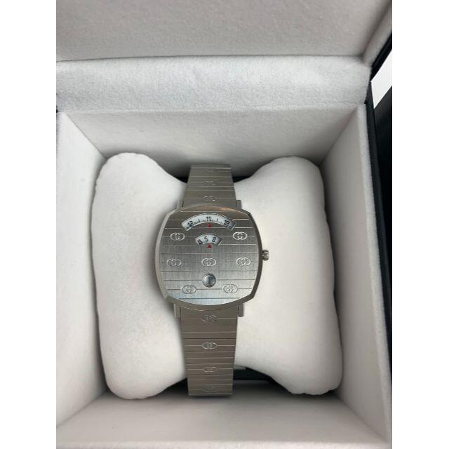Gucci(グッチ)のGUCCI グリップ ウォッチ 38mm sliver メンズの時計(腕時計(アナログ))の商品写真