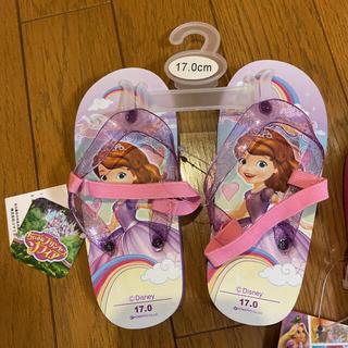 Disney - 【新品未使用】全てセットプリンセスのビーチサンダルと靴下