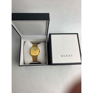 グッチ(Gucci)のGUCCI グリップ ウォッチ 38mm gold(腕時計(アナログ))