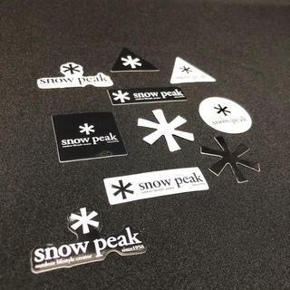 Snow Peak - スノーピーク ステッカー シール 各種10枚セット